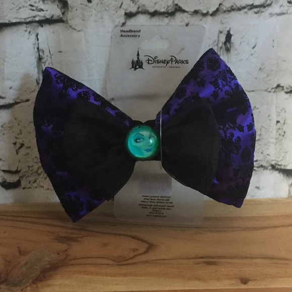 Disney Accessories - Disney Haunted Mansion Swap Your Bow
